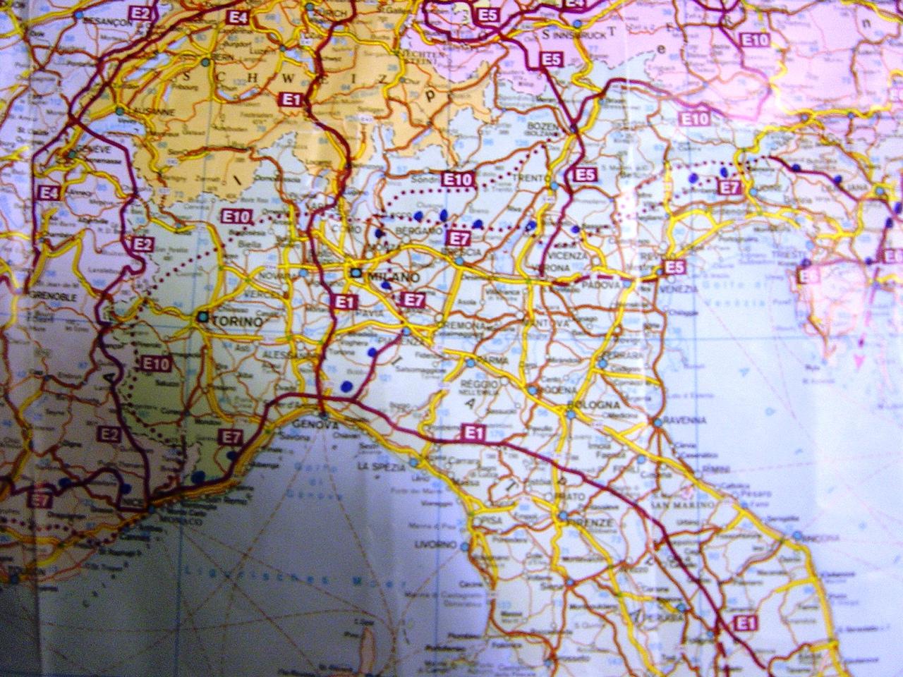 mapa severna italija KLIKNITE SPODNJI LOGOTIP ZA NOVI FORUM O POHODNIŠTVU :: Poglej  mapa severna italija